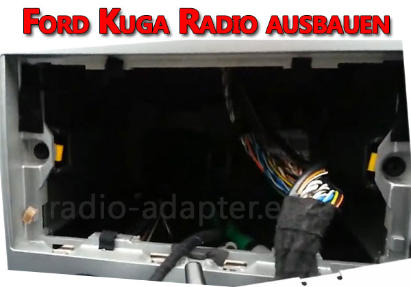 Ford Kuga Radio ausbauen
