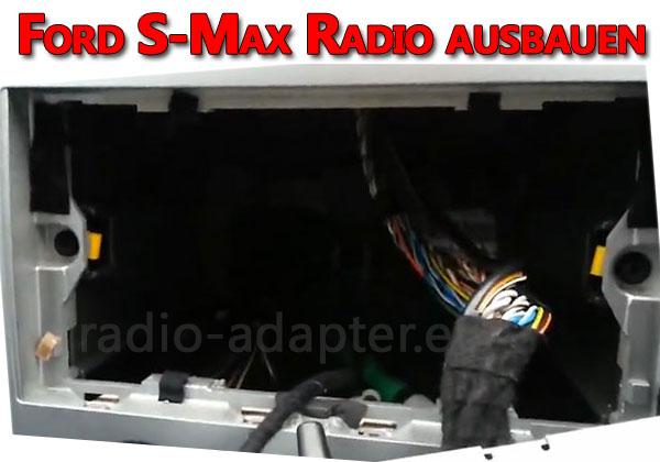 Ford S-Max Radio ausbauen