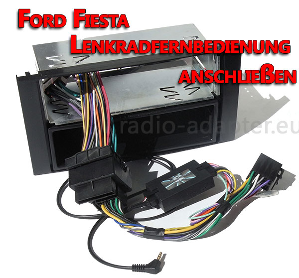 Lenkradfernbedienung verkabeln im Ford Fiesta ohne CAN BUS