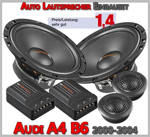 Audi-A4-B6-Lautsprecher-Soundsystem-vordere-Türen