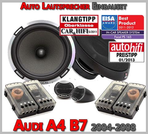 Audi-A4-B7-Lautsprecher-für-beide-vordere-Türen