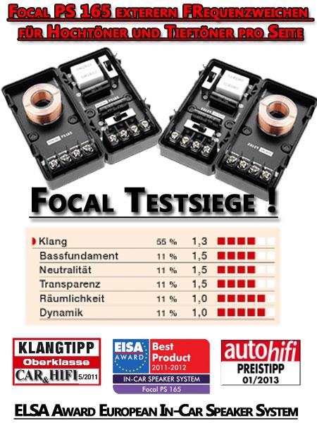 Focal-PS165-Lautsprecher-Testsiege