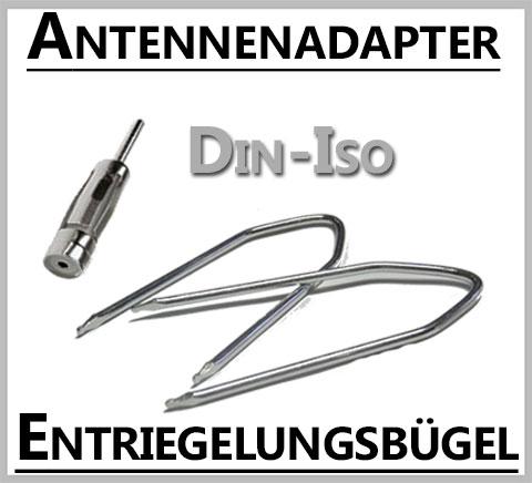 Ford-Antennenadapter-Entriegelungsbügel