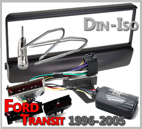 Ford-Transit-Lenkradfernbedienung-Einbauset-1996-2005