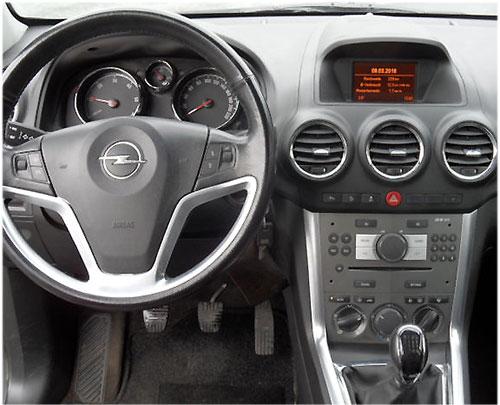 Opel-Antara-Autoradio