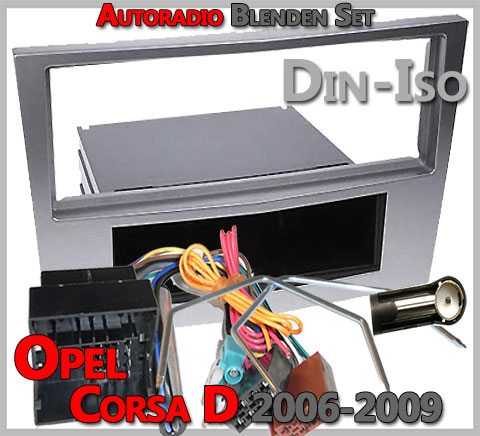 autoradio einbau tipps infos hilfe zur autoradio installation opel corsa d radioblenden set. Black Bedroom Furniture Sets. Home Design Ideas