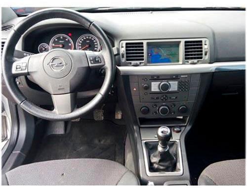 Opel-Vectra-C-Autoradio