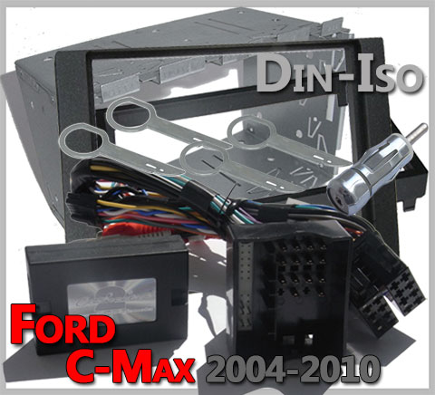 Ford-C-Max-Lenkrad-Fernbedienung-Adapter-2-DIN