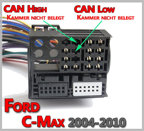 Ford-C-Max-ohne-Can-Bus-System