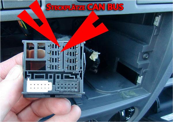 Ford-Fusion-Fahrzeugstecker-Steckplätze-CAN-BUS-Kabel
