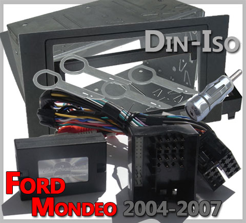 Ford-Mondeo-Lenkrad-Fernbedienung-Adapter-2-DIN