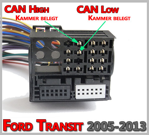 Ford Transit Mit Can Bus System