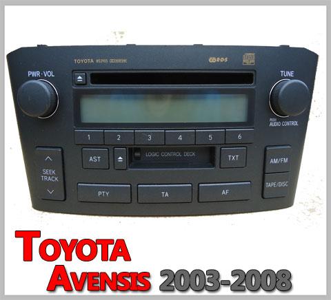 Toyota-Avensis-Autoradio-2003-2008