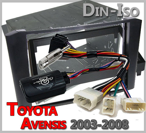Toyota-Avensis-Lenkrad-Fernbedienung-Adapter-2-DIN