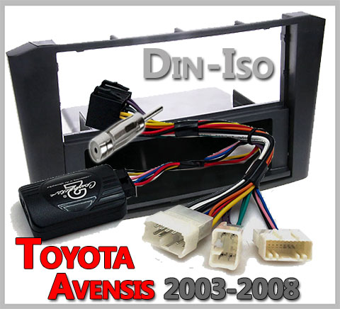 Toyota-Avensis-Lenkradfernbedienung-Einbauset