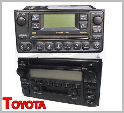 Toyota-Fujitsu-Ten-Matsushita-Radio