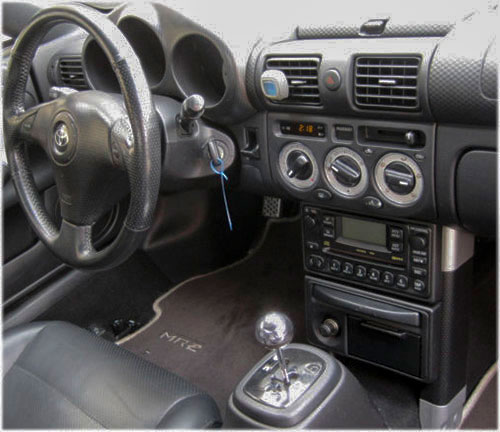 Toyota-MR2-Autoradio Toyota MR2 Lenkradfernbedienung 1 DIN Einbauset Toyota MR2 Lenkradfernbedienung 1 DIN Einbauset Toyota MR2 Autoradio