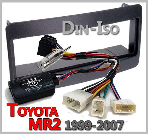 Toyota-MR2-Lenkradfernbedienung-1-DIN-Einbauset