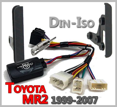 Toyota-MR2-Lenkradfernbedienung-Einbauset-1999-2007