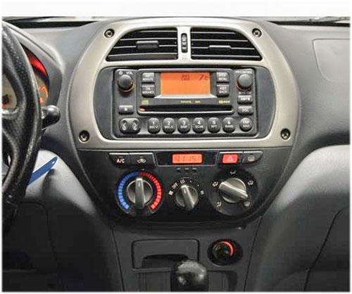 Toyota-Rav-4-Radio-2002 toyota rav4 lenkradfernbedienung 1 din radio einbauset Toyota RAV4 Lenkradfernbedienung 1 DIN Radio Einbauset Toyota Rav 4 Radio 2002