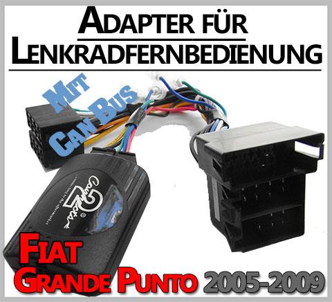 Fiat-Grande-Punto-Adapter-für-Lenkradfernbedienung-mit-CAN-BUS