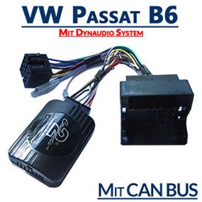 VW-Passat-B6-mit-Dynaudio-System-Adapter-für-Lenkradfernbedienung