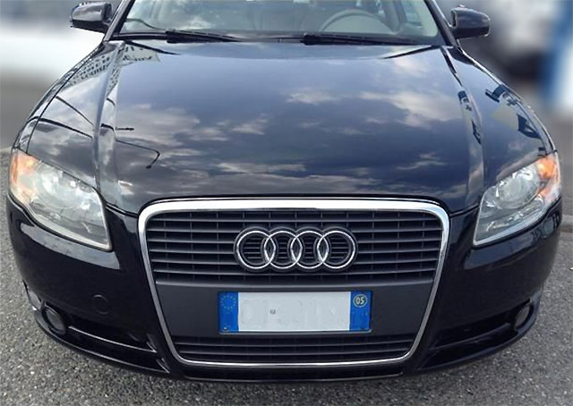 Autoradio Einbau in Audi A4