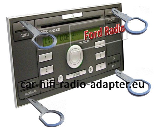 Ford-C-Max-Radio-Entriegeln
