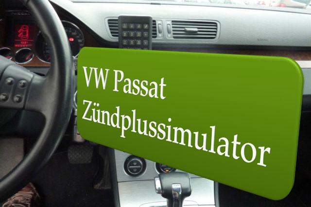 Autoradio Zündplus für VW Passat B6 Einbauanleitung
