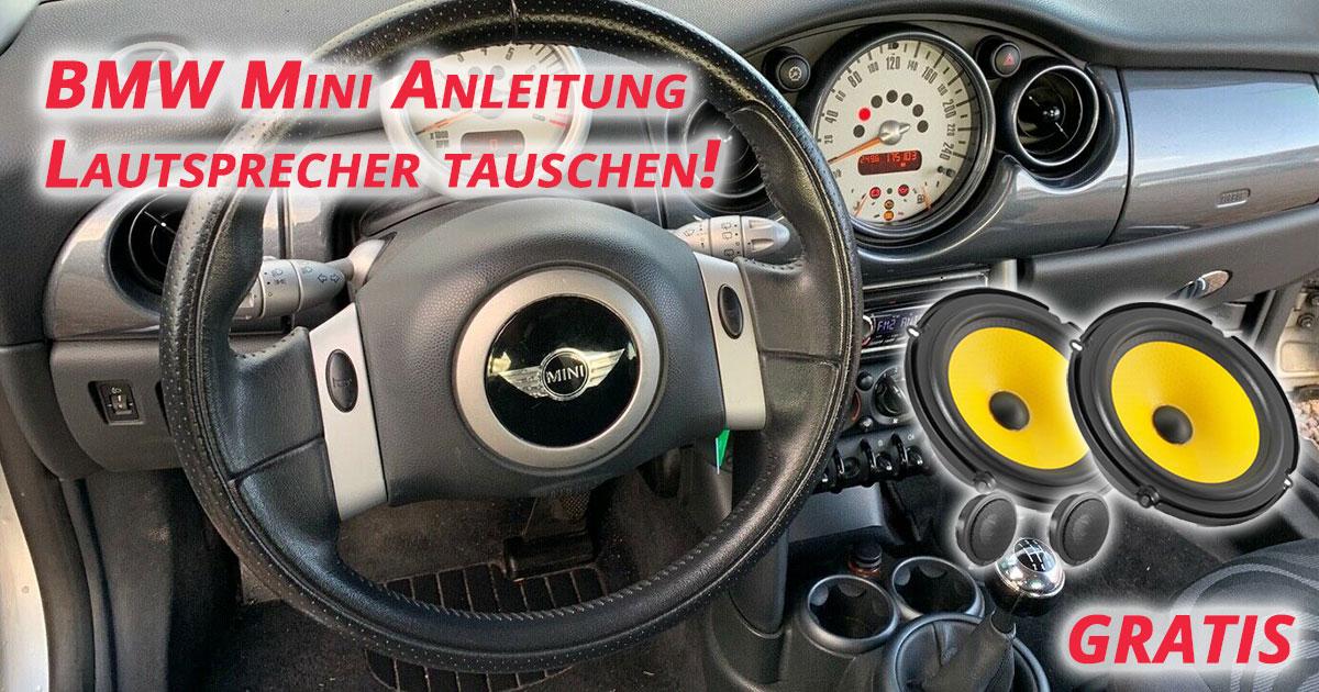 Lautsprecher wechseln BMW Mini One