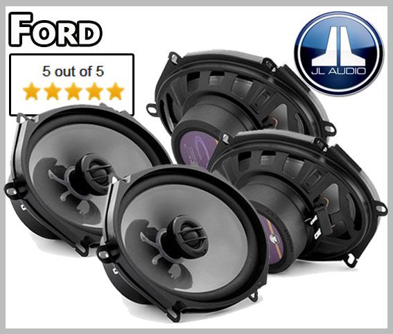 Ford Focus I Lautsprecher Set vordere und hintere Türen leichter Einbau