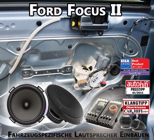 Ford Focus II Lautsprecher Einbauen