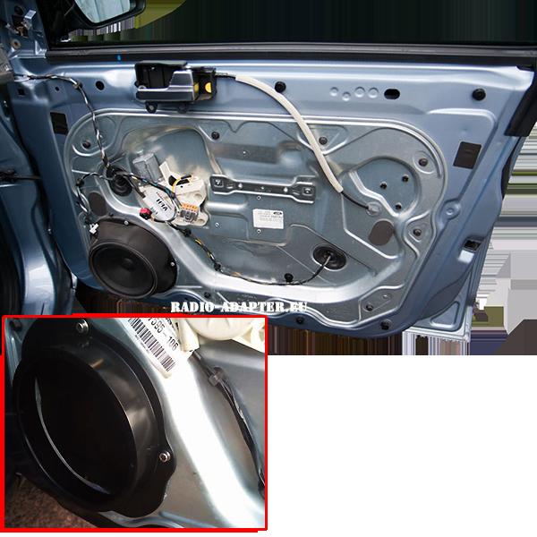 Ford-Focus-Türe-innen-Lautsprechermontage