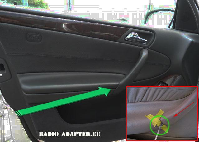 Mercedes-C-Klasse-Türgriff