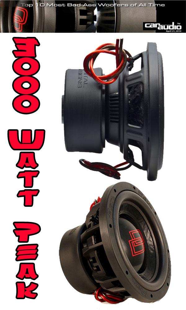 3000 Watt Subwoofer