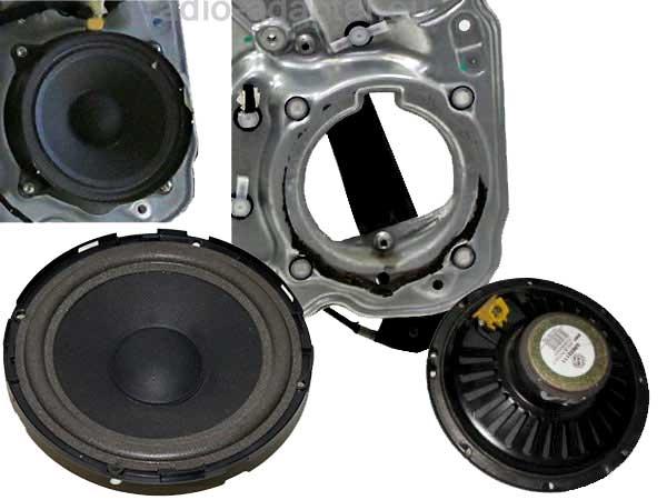 Alfa-156-original-Lautsprecher-ausbohren