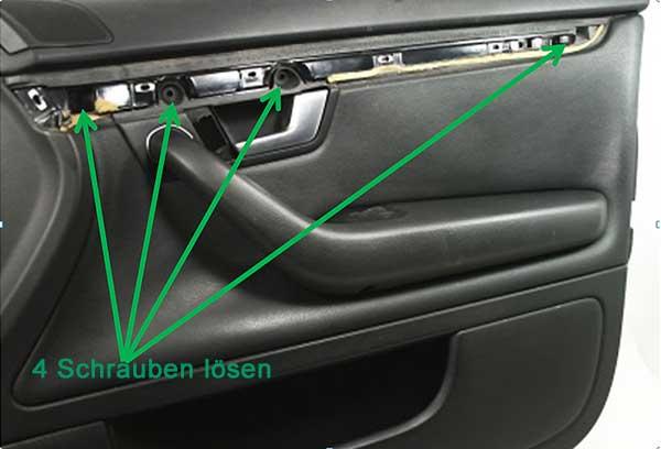 Audi-A4-B6-Türverkleidung-Schrauben