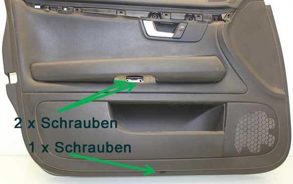 Türverkleidung-Schrauben-Audi-A4-B6