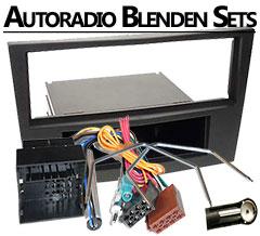 Autoradio Blenden Sets