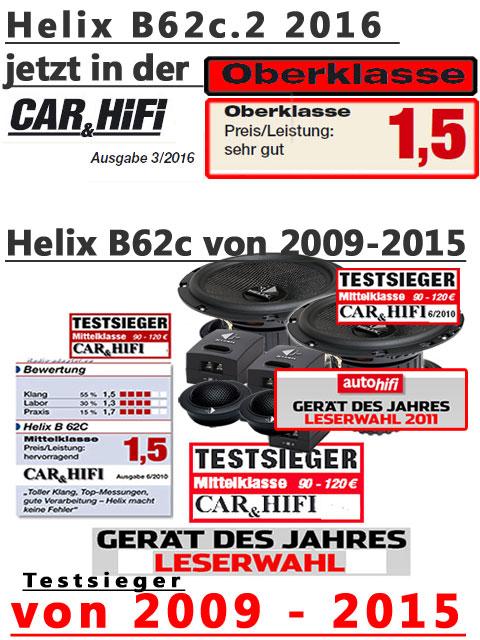 Helix B62c Testsieger Detail