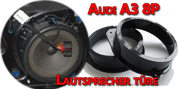 Audi A3 8P Lautsprecher ausbauen
