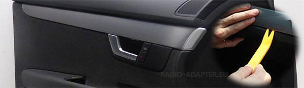 Audi A4 B7 Dekorleiste Türverkleidung entfernen