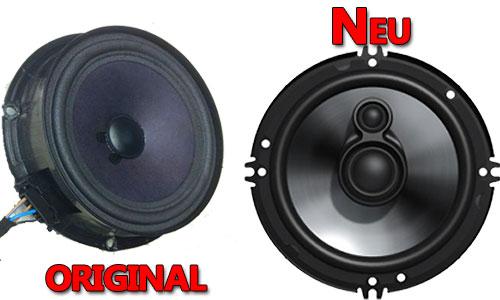Beispiel VW Lautsprecher Original oder Neu