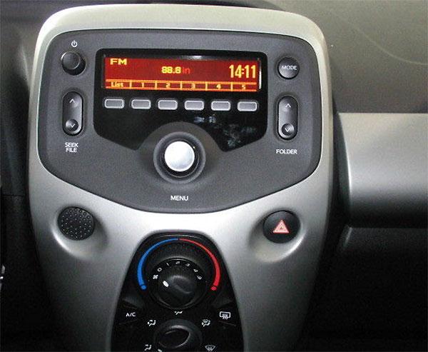 Citroen C1 ab 2014 Standard Radio