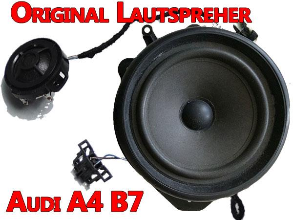 Original Lautsprecher Audi A4 B7