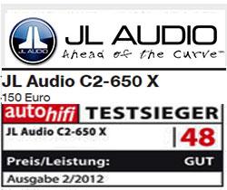 Test JL Audio C2 650x