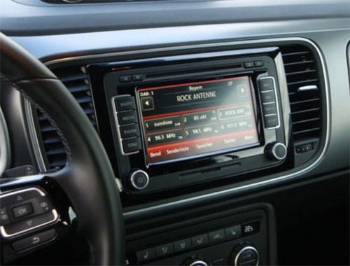 VW Beetle Radio 2012
