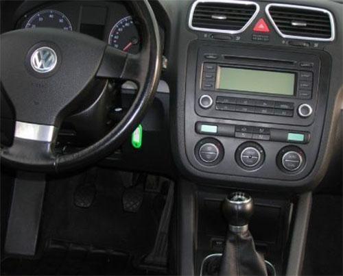 VW Eos Radio 2011