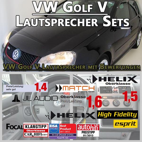 VW-Golf-V-Lautsprecher-Sets