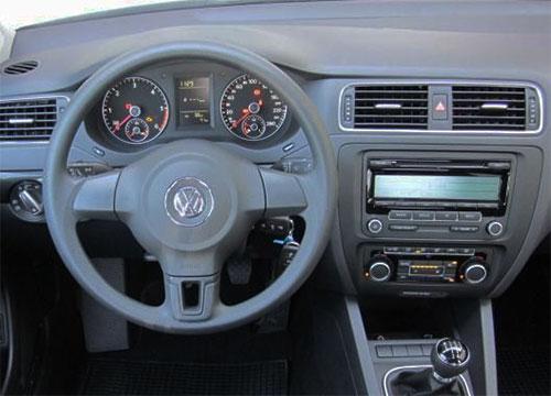 VW Jetta VI Radio 2011